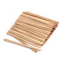 Italwax шпатели мини для лица деревянные одноразовые 100 шт
