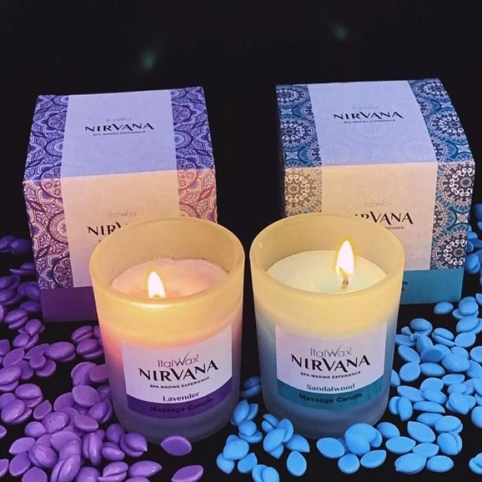 Italwax Nirvana Lavanda Свеча ароматическая массажная 50 мл