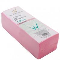 Italwax Бумага для депиляции розовая 7*20 (100 шт)