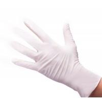 White Line Перчатки нитриловые белые размер XS (50 пар/100шт)