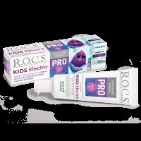 ROCS Kids Electro Pro 3+ зубная паста для детей которые чистят зубы электрическими щетками 35 мл