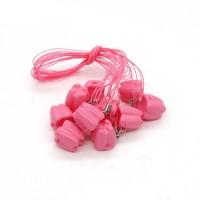 Andent Milk бокс для молочных зубов розовый (17*17*18) (1 зубик)