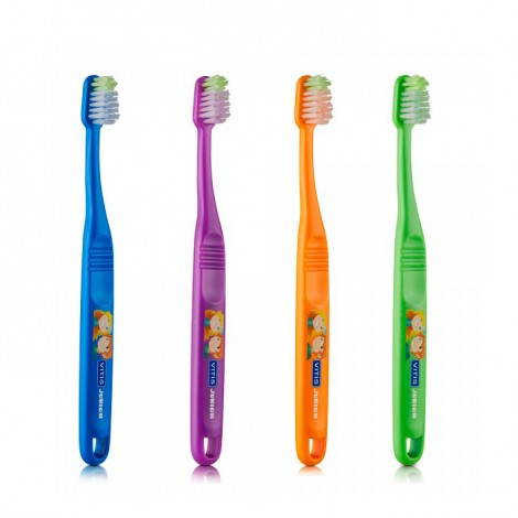 Vitis junior зубная щетка от 6 лет в твердой упаковке
