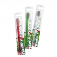 ROCS Teens Soft модельная зубная щетка с мягкими щетинками для детей от 8 до 18 лет