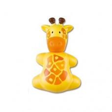 Miradent Funny Giraffe детский гигиенический футляр для зубной щетки в форме жирафа