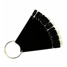 Dona Jerdona ромашка черная на кольце 50 делений