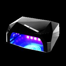 НБ Гибридная лампа 36 ватт мини черная (CCFL 12В + LED 24 в.)