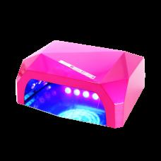 НБ Гибридная лампа 36 ватт мини розовая (CCFL 12В + LED 24 в.)