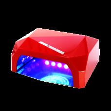 НБ Гибридная лампа 36 ватт мини красная (CCFL 12В + LED 24 в.)