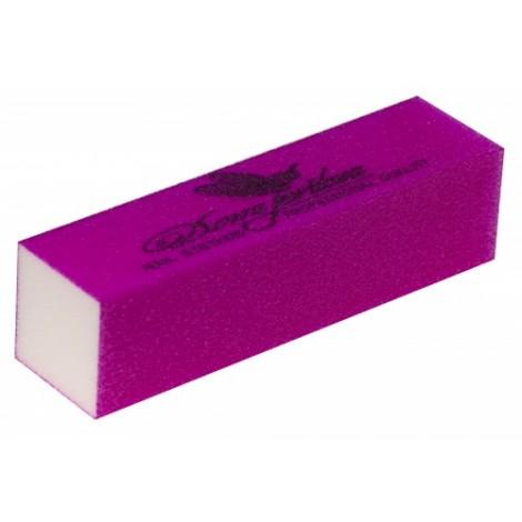 Дона Жердона 101190 баф шлифовочный для искусственных ногтей фиолетовый 100/100