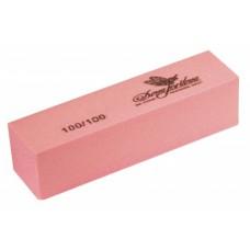 Dona Jerdona Баф шлифовочный для искусственных ногтей розовый 100/100 101192, шт