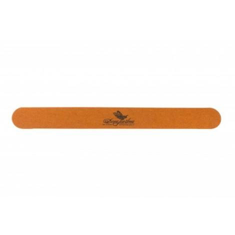 Пилка тонкая деревянная коричневая одноразовая 100/180