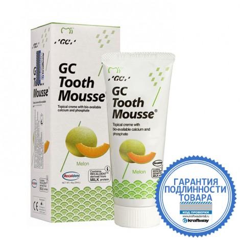 GC corporation Тус Мусс Дыня аппликационный мусс для реминерализации зубов 40 г