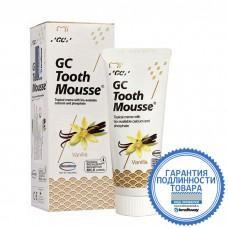 Зубной гель GC Corporation Tooth mousse, ваниль 40 грамм