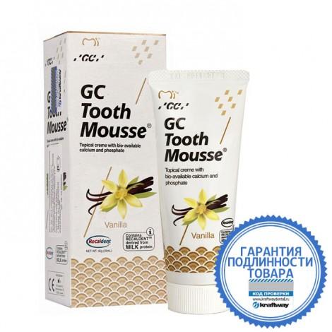 GC corporation Тус Мусс Ваниль аппликационный мусс для реминерализации зубов 40 г