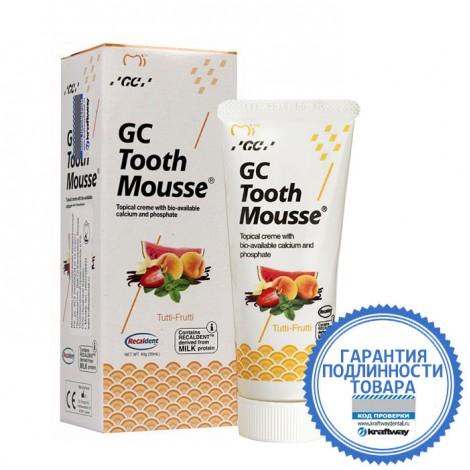 GC corporation Тус Мусс Мультифрукт аппликационный мусс для реминерализации зубов 40 г