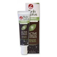 Twin Lotus Herbaliste Active Charcoal зубная паста с углем 25 гр