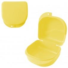 Andent DB03 контейнер для хранения ортодонтических конструкций (85*82*45) лимонный