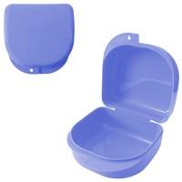 Andent DB03 (85*82*45 мм) контейнер для хранения ортодонтических конструкций голубой