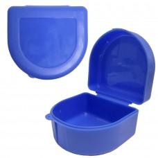Andent TB06 (80*71*50) контейнер для хранения ортодонтических конструкций синий