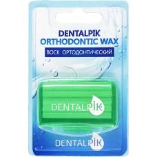 Dentalpik воск ортодонтический для брекетов яблочный