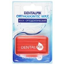 Dentalpik воск ортодонтический для брекетов клубничный
