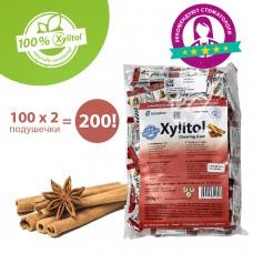 Miradent Xylitol Chewing Gum Cinnamon корица жевательные резинки 100 по 2 шт