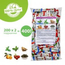 Miradent Xylitol Chewing Gum Ассорти жевательные резинки 200 по 2 шт