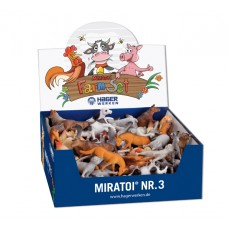 Miratoi No3 - игрушки ферма 100 шт