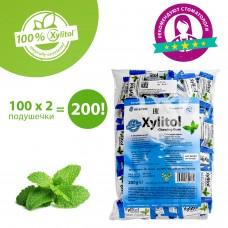 Miradent Xylitol Chewing Gum peppermint перечная мята жевательная резинка 100 по 2 шт.