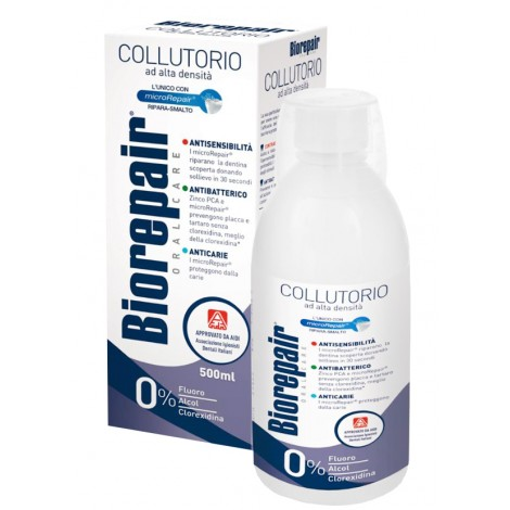 Biorepair 4-action mouthwash бальзам ополаскиватель (500 мл)
