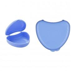 Andent DB01 в форме сердечка контейнер для хранения ортодонтических конструкций голубой (65*72*25)