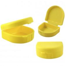 Andent DB11 контейнер для хранения ортодонтических конструкций желтый (71*78*37)