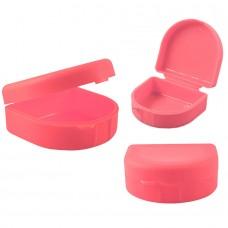 Andent DB11 контейнер для хранения ортодонтических конструкций розовый (71*78*37)