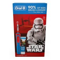 Braun Oral-B Stages Power D12.513.1 Star Wars (На аккумуляторе)+ зубная паста