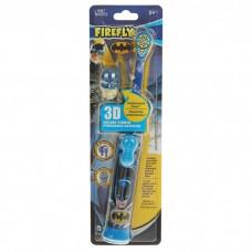 SmileGuard Batman детская зубная щетка с батарейкой и 3D колпачком 3+