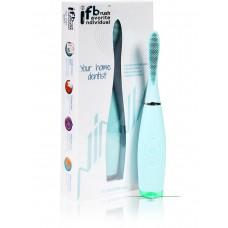 F.F.T. IFB-22000 ninja Ультразвуковая зубная щетка со съемной силиконовой насадкой синяя