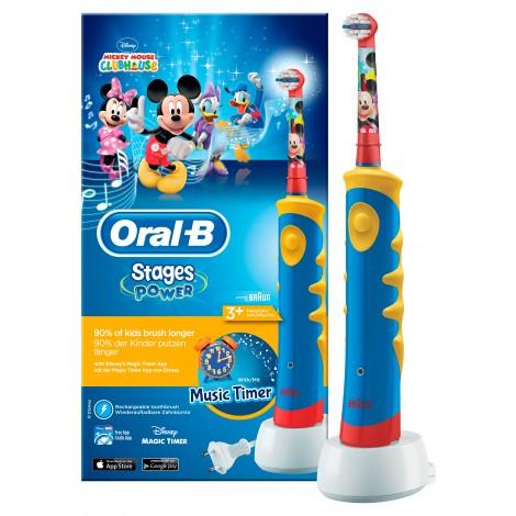 """BRAUN Oral-B электрическая зубная щетка для детей """"Mickey Mouse"""""""