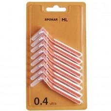 Spokar L 0.4 ultra ершики цилиндрические оранжевые 8 шт