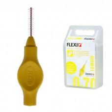 Tandex Flexi Lemon межзубные ершики 0.70 мм проволока, 3.50 мм ершик жёлтые 6 шт