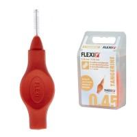 Tandex Flexi Tangerine межзубные ершики 0.45 мм проволока, 2.50 ершик оранжевые 6 шт