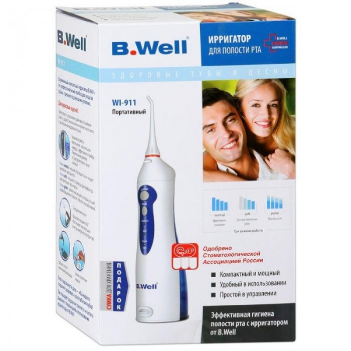 B.Well WI-911 медицинский портативный ирригатор для полости рта
