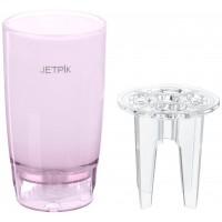 Jetpik Стакан с функцией подачи воды (Розовый)