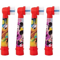 Braun Oral-B Stages Power Mickey насадки для электрической щетки (4 шт)
