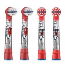 Braun Oral-B Stages Power Star Wars EB10K4 насадки для электрической щетки (4 шт)