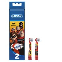 Braun Oral-B EB10-2 Extra Soft Stages Power Incredibles (2 шт)
