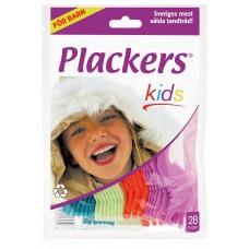 Plackers Kids зубной станок (флоссер) с запатентованной нитью TUFFLOSS (28 шт)