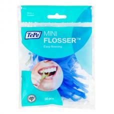 TePe Mini Flusser межзубная нить на держателе (36 шт)