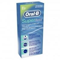 Braun Oral-B Super floss Mint 50 нитей для брекетов и мостовидных коронок