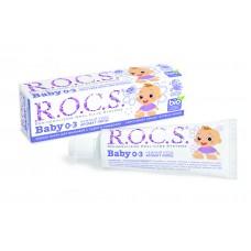 ROCS Baby зубная паста аромат липы для детей от 0 до 3 лет (45 гр)